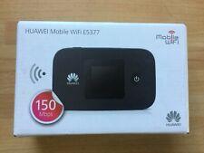 HUAWEI E5377 BLACK LTE 4G & 3G Mobile MiFi WiFi Wireless Modem E5377