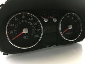 Hyundai Tiburon Coupe 2001-2008   2- Teilig  Aluminium  Tachoringe / Tacho Ringe