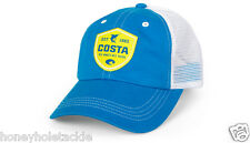 BRAND NEW COSTA DEL MAR SHIELD TRUCKER CAP HAT   COSTA BLUE WITH YELLOW  - HOT