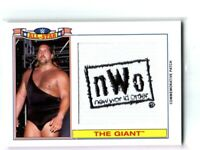 WWE The Giant 2016 Topps Heritage NWO All-Star Patch Relic Card SN 84 of 299