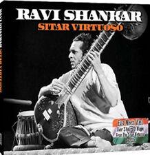 Ravi Shankar Sitar Virtuoso 2 CD Set JEWEL Case & Cardboard Sleeve 2011 VGC