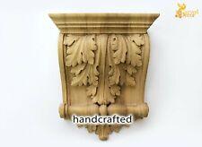 Carved wood corbels (SET OF 10), Ornate carved wood corbels for island kitchen