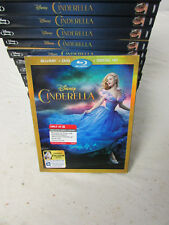 New Sealed Blu-Ray DVD Digital HD Disney Cinderella w/ Slipcover + Frozen Fever