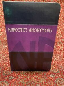 New 6th Edition Numbered Purple Commemorative Narcotics Anonymous Basic Text