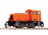 PIKO 47307 Diesellok BR 101 der DR, orange, Epoche IV, Spur TT