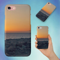 SEA SUNSET HARD BACK CASE FOR APPLE IPHONE PHONE