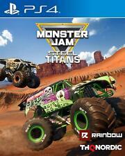 Monster Jam: Steel Titans | PlayStation 4 PS4 New