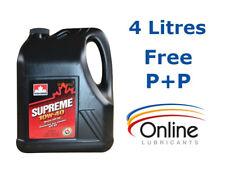 PetroCanada Supreme 10w40 Engine Oil 4 L Litres API SN / SM