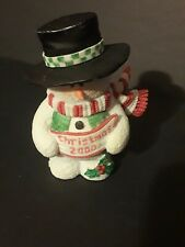 "Sarah's Attic Snowonders Collection, #7791 ""Christmas 2000 Figurine"","