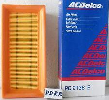 FILTRO ARIA VOLKSWAGEN CADDY GOLF I II JETTA SCIROCCO ( 055129620A ) PC2138E