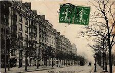 CPA Paris 14e Paris, Boulevard Raspail (310896)