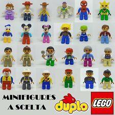LEGO DUPLO MINIFIGURE DISNEY ORIGINALI A SCELTA SPEDIZIONE UNICA MINIFIGURES