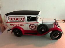 DANBURY MINT DIECAST 1:24 1931 TEXACO FORD PANEL DELIVERY TRUCK Lightly Used