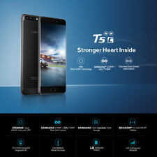 5,5'' LEAGOO T5c Smartphone 4G Handy 3+32GB 8Core Touch ID 13MP 3000mAh Schwarz