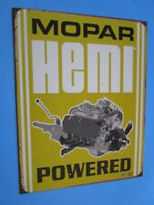 tin metal gasoline service station man cave advertising decor gas oil mopar