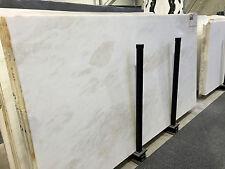 Tischplatte Marmor weiss f. Couchtisch Esstisch Ablage Sidebord Naturstein Tisch