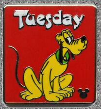 Pluto Days of the Week Tuesday Pin - DISNEY Hidden Mickey - WDW 2013 Series