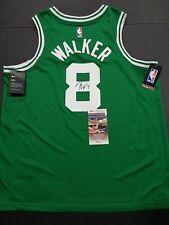 Kemba Walker Boston Celtics Autographed Swingman XL Jersey Coa JSA