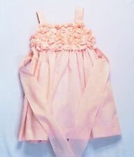 Luli & Me Boutique Floral Lined Pink Occasion Dress, 4