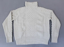 Vince Women's L/S Cashmere-Blend Sweater MC7 Off White/Marzipan Size XS NWT $395