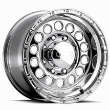 16x10 Raceline 887 Rockcrusher Polished Wheels 8x6.5 (-24mm) Set of 4