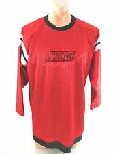 EXTREME SPORTS MENS RED MESH JERSEY SIZE L