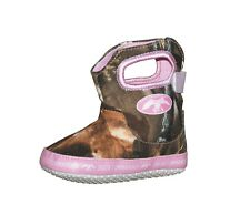 JASE'S FOWL WEATHER DUCK COMMANDER REALTREE & PINK BABY INFANT CAMO SHOES BOOTS