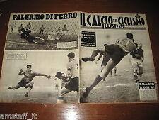 IL CALCIO E CICLISMO ILLUSTRATO 1962/1=CUDICINI=LOSI=ROMA=SPAL PALERMO 0-2=