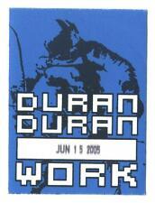 Duran Duran - Alter Konzert-Satin-Pass Work vom 15.06.2005 Schönes Sammlerstück