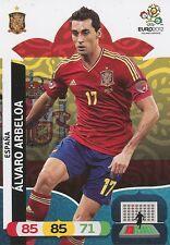 ALVARO ARBELOA # ESPANA CARD PANINI ADRENALYN EURO 2012