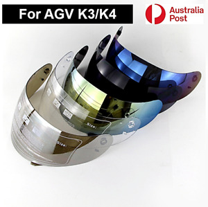 Motorcycle Helmet Visor Shield For AGV K3 K4 Helmet Glasses Lens Night Vision AU