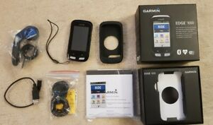 GARMIN EDGE 1000 GPS CYCLE COMPUTER BOXED WITH OUT FRONT MOUNT