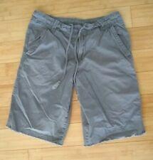 Kirra Men's Skater Surfer Shorts Size 31 W Gray