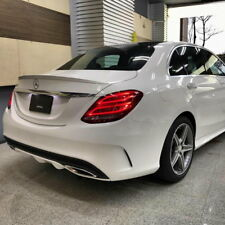 Stock A Look ABS Rear Trunk Spoiler Wing For 2015~20 M-Benz C class W205 Sedan