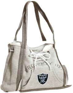 Las Vegas Raiders Purse Hoodie Handbag Embroidered Logo