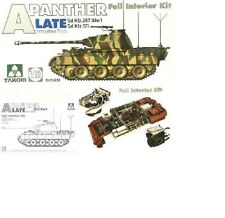 Char Allemand PANTHER A, Sd.Kfz 171 & 267 - KIT TAKOM INTERNATIONAL 1/35 n° 2099