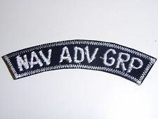 b7310 US Navy Vietnam Nav Adv Grp Navy Advisory Group on black tab IR27E