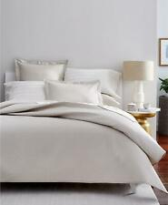 Charter Club Damask Solid 3 Piece King Quilted Coverlet Set Parchment $185