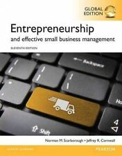 Entrepreneurship and Effective Small Business Management by Norman M. Scarboroug