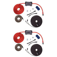 Rockford Fosgate 4 AWG Amplifier Power and Signal Installation Kit (2 Pack)