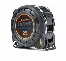 Crescent L1125B Lufkin 25' Shockforce Nite Eye Dual Sided Tape Measure BRAND NEW