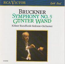 Anton Bruckner - Symphony no. 5 (Günter Wand) CD