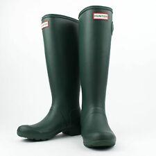 NIB HUNTER Hunter Green Original Tour Tall Rain Boots Shoes US 10 UK 8 EU 41