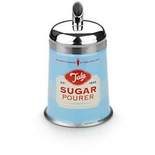 TALA Metal Sugar Pourer. 1960's Retro Design Cakes/Cupcakes/Drinks/Cocoa. BLUE