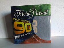jeu de société  TRIVIAL PURSUIT  edition  NOS ANNÉES 90  2005  ( complet )