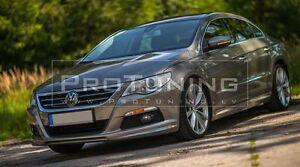 VW Passat CC 08-12 Front Bumper lip Spoiler R-LINE addon R36 vr6 prefacelift