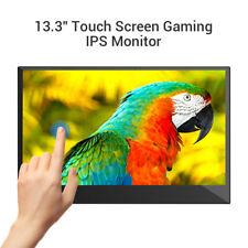 "Eyoyo 13.3"" Touchscreen IPS HDMI Monitor Second Screen 1920x1080 For Gaming Home"