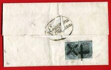 ITALIAN STATES - PAPAL STATES baj. 1/2 pair - cover from FERRARA (308-15)