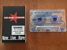 RAGE AGAINST THE MACHINE NEW LIVE RARE SAMPLER AUSTRALIAN CASSETTE TAPE