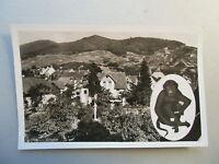 Ansichtskarte Affental Bühl Baden Weinort Gasthaus zum Auerhahn Eigent. Winkler
